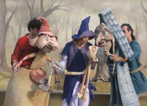 obra de teatro zapatero y las brujas