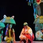 Obra de teatro – Las cuatro ranas