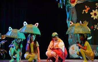 cuatro ranas obra de teatro corta
