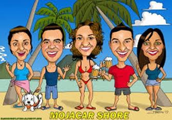 ¡Vamos a la playa! – obra de teatro